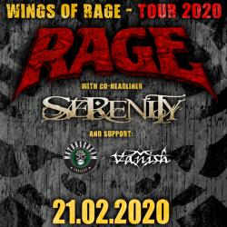WINGS OF RAGE TOUR 2020