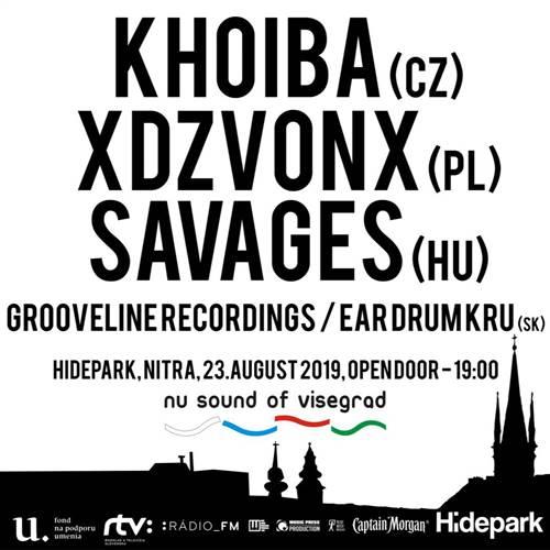 Nu Sound of Visegrad : Hidepark Nitra 2019