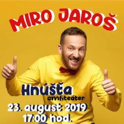 Miro Jaroš v Hnúšti