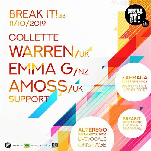BREAK IT! 38 w. EMMA G, COLLETTE WARREN, AMOSS