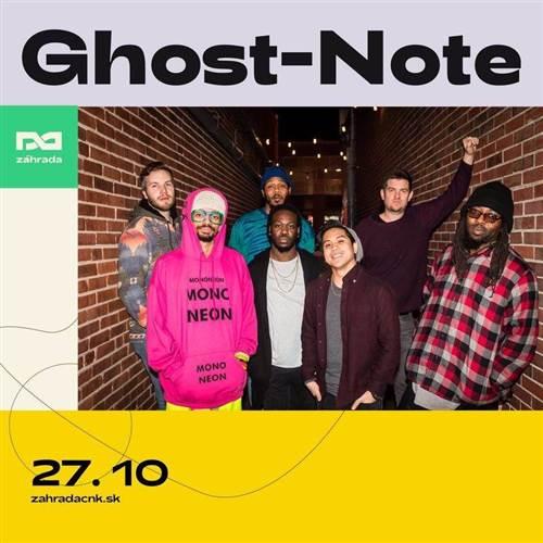 Ghost-Note v Záhrade