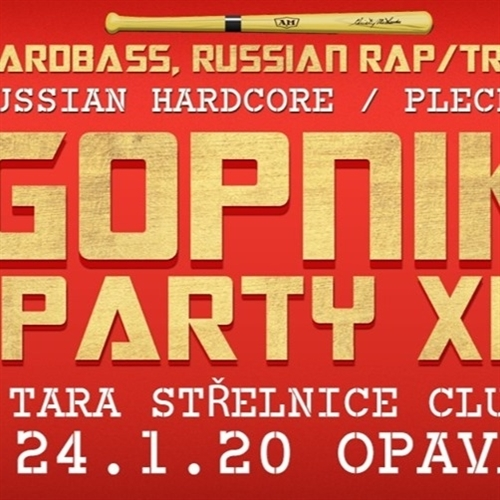 Gopnik party xl - Opava, Tara Club 24.11.2020