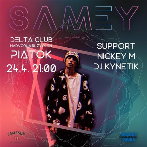 Samey Xyz Tour / Deltaclub