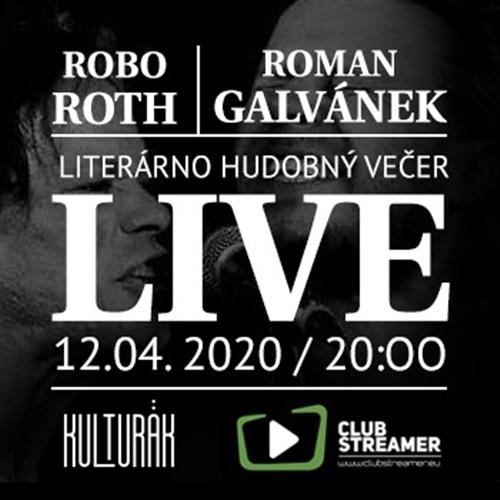Online Kultúra/ Robo Roth & Roman Galvánek - live stream